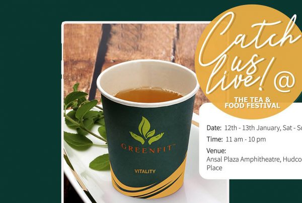 greenfit at the tea and food festival