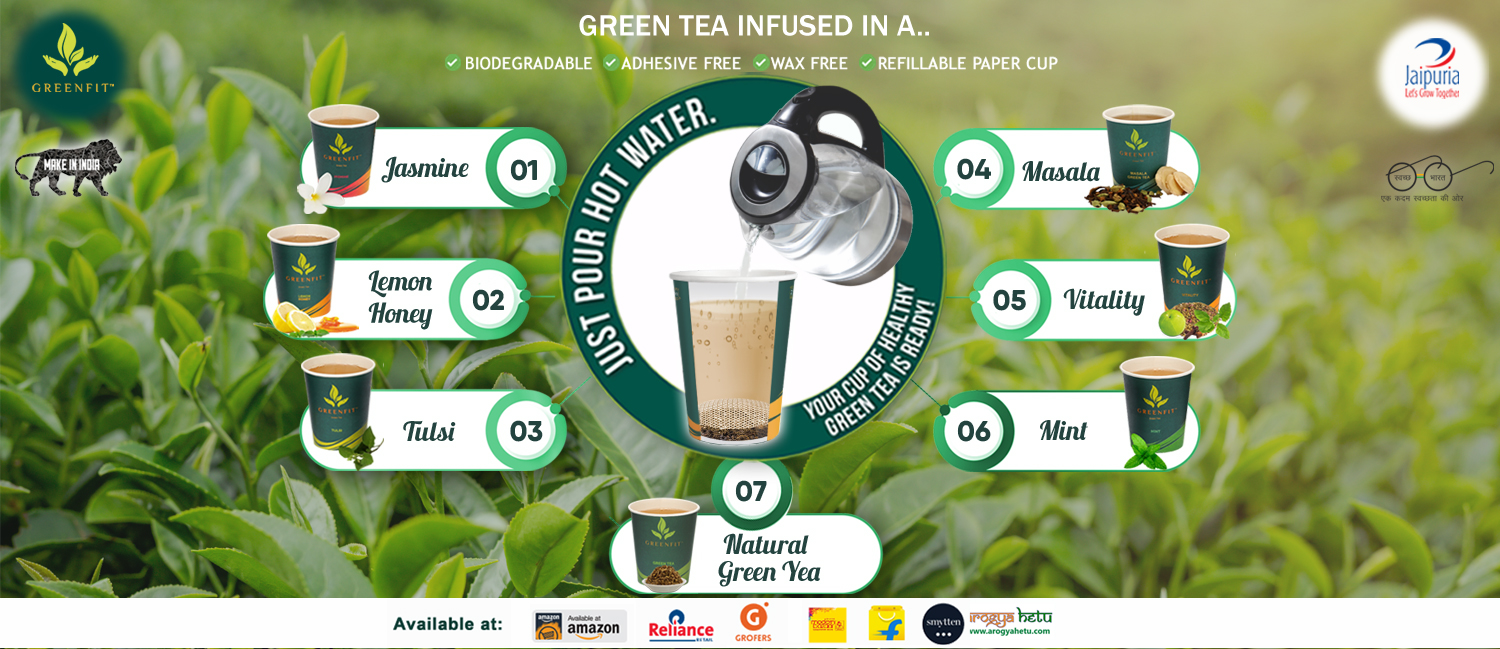 Why Greenfit Green Tea Cups? How are they different ?