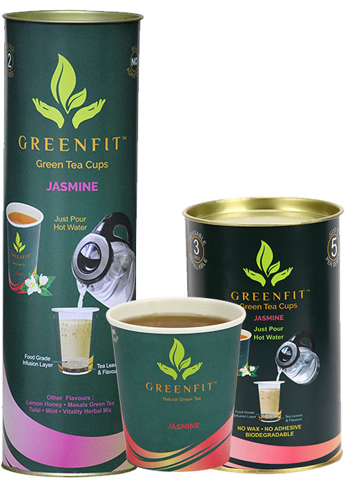 Jasmin greenfit green tea